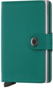 Secrid Mini Wallet Portemonnee Original Emerald Green