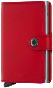 Secrid Mini Wallet Portemonnee Red Leather