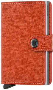 Secrid Mini Wallet Portemonnee Crisple Orange