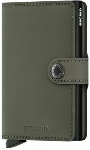 Secrid Mini Wallet Portemonnee Matte Green