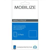 Mobilize Impact-Proof 2-pack Screen Protector Microsoft Lumia 64