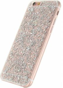 Xccess Glitter TPU Case Apple IPhone 6/6S Clear Silver -