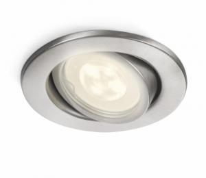 Philips MyGarden LED-spotlight Inbouw Fresco Zilver 5 W 0179647P