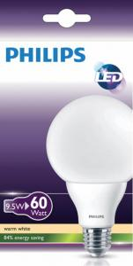 Philips LED Globelamp 95W 60W WW E27