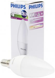 Philips CorePro E14 LED Lamp 4-25W Warm Wit