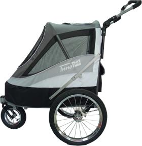 Hondenbuggy Sporty Dog Trailer Zwart (8718403400670)