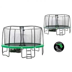 EXIT Trampoline JumpArena All-In-One Rond Groen 457 Cm