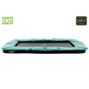 EXIT Supreme Ground Level Ingraaftrampoline Rechthoekig - 214 X