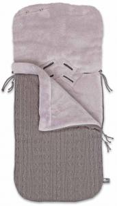 Voetenzak Baby Only Kabel Taupe Teddy