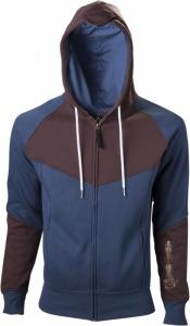 Assassin Creed Unity Blue/Brown Hoodie With Print