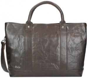 Plevier Business/ Laptoptas 2-Vaks 15.6 Dark Brown 605