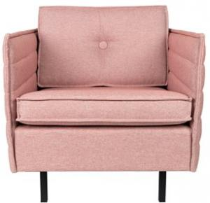 Zuiver - Jaey Fauteuil Polyester Roze