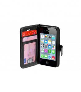 Wallet ID Case IPhone 4/4S Zwart