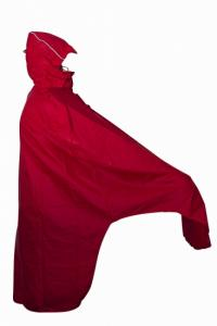 Lowland Fiets Poncho - Rood One Size