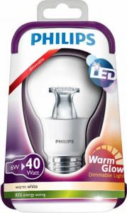 Philips Dimbare LED Kogel Lamp 6W 40W E27