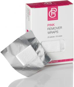Pink Remover Wraps 20pc