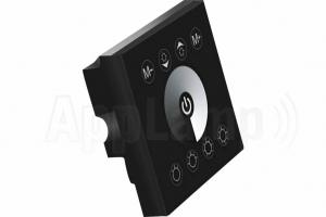 LED Strip Inbouw Wand Dimmer Touch Paneel 12-24V ZWART