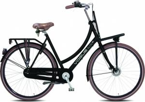Vogue Elite Plus 28 Inch 50 Cm Dames 7V Rollerbrakes Matzwart