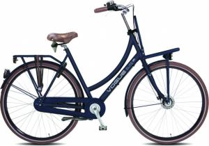 Vogue Elite Plus 28 Inch 50 Cm Dames 7V Rollerbrakes Blauw