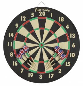 Harrows Darts Dartbord Eric Bristow Family Dart Game