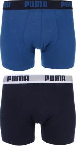 Puma Men 2 Pack Boxers - Navy/Royal XL