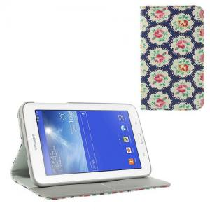 Mesh - Samsung Galaxy Tab 3 7.0 Lite T110/T111 Hoes Wallet Cover