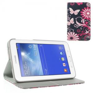 Mesh - Samsung Galaxy Tab 3 7.0 Lite T110/T111 Hoes Cover Vlinde