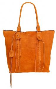 Chabo Bags Indian Shopper - Cognac