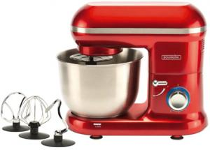 Bourgini Classic Kitchen Chef Red 1250W Staande Mixer Rood (8718868209771)