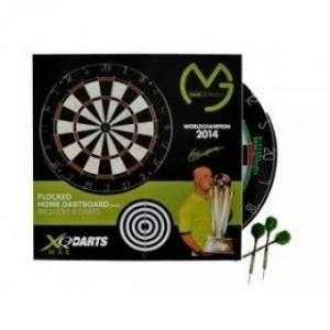 Michael Van Gerwen Flocked Dartbord