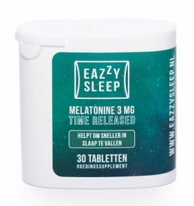 Eazzysleep Melatonine Time Released 3 Mg