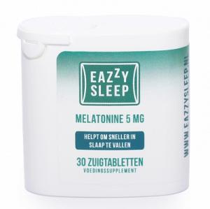 Eazzysleep Melatonine Regular 5 Mg Zuigtabletten