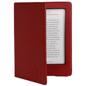 Gecko Protection Cover Deluxe F / Kobo Aura H2O Leatherette Red