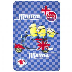 Fleece Deken - Minion Mania 100x150cm