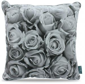 Intimo Collection Rose Bouquet Kussen 45 X Cm - Grey