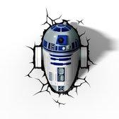 Star Wars 3D Lamp R2-D2