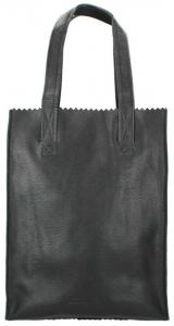 Myomy Paper Bag Long Handle Zip Rambler Black