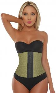 Special Edition | Gold Latex Waist Trainer-gold-XL