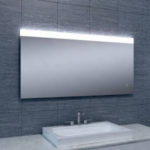 Spiegel Single Dimbare Led 60X120 Cm Aqua Splash