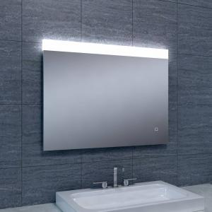 Spiegel Single Dimbare Led 60X80 Cm Aqua Splash