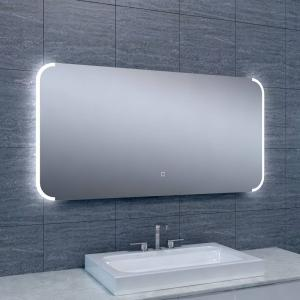 Spiegel Bracket Dimbare Led 60X120 Cm Aqua Splash