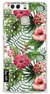 Softcover Huawei P9 - Tropical Flowers