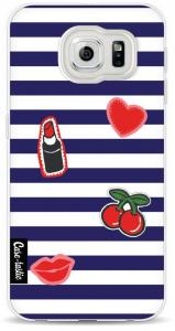 Casetastic Softcover Samsung Galaxy S6 Navy Patches
