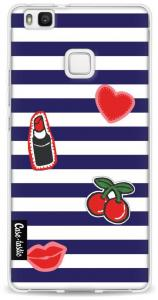 Casetastic Softcover Huawei P9 Lite Navy Patches