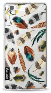 Casetastic Softcover Huawei P8 Lite Feathers Multi