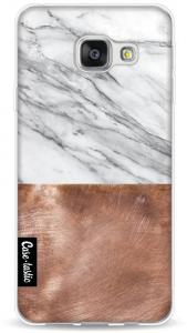 Casetastic Softcover Samsung Galaxy A3 2016 Marble Copper