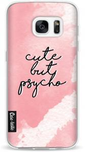 Softcover Samsung Galaxy S7 - Cute But Psycho Pink