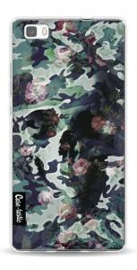 Softcover Huawei P8 Lite - Army Skull