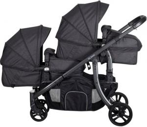 X-Adventure Xline Duo Kinderwagen Domino