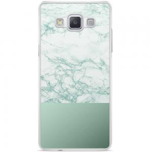 Samsung Galaxy A5 Hoesje - Minty Marble